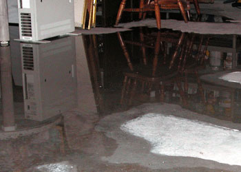 basement water damage repair