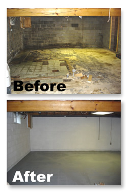 basement and crawlspace waterproof tips