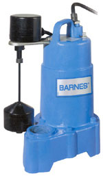 Barnes Sump Pumps