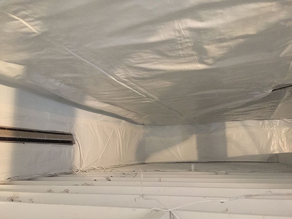 crawlspace waterproofing