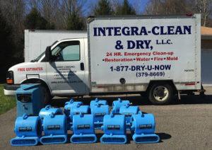 water damage cleanup Scranton PA