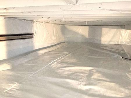 crawlspace waterproofing